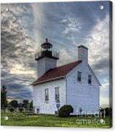 Escanaba Lighthouse Acrylic Print