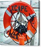 Escape To The Sea Acrylic Print