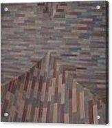 Escher Joins The Masons Acrylic Print
