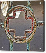 Esp Gate Cross Acrylic Print