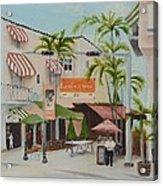 Espanola Way South Beach Florida Acrylic Print