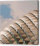 Esplanade Theatres Roof 01 Acrylic Print