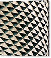 Esplanade Theatres Roof 06 Acrylic Print