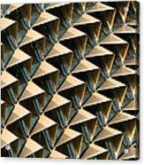 Esplanade Theatres Roof 13 Acrylic Print