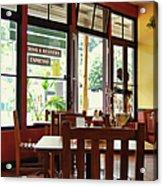 Espresso - Aloha Angel Cafe Acrylic Print