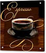 Espresso Passion Acrylic Print