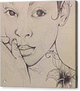 Essence Of A Woman Acrylic Print