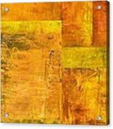 Essence Of Yellow Acrylic Print