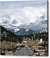 Estes Park In The Spring Acrylic Print by Tranquil Light  Photography