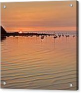 Estruary Harbour Sunset Acrylic Print