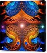 Eternal Angels  Acrylic Print