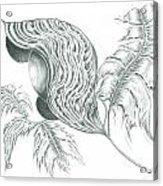 Eternal Blossom- Aiyana Acrylic Print
