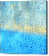 Eternal Blue - Blue Abstract Art By Sharon Cummings Acrylic Print by Sharon Cummings