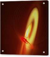 Eternal Flame Acrylic Print