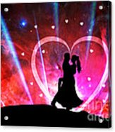 Eternal Love Acrylic Print by Phill Petrovic