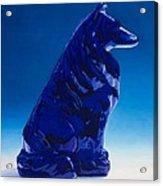 Eternally Blue Acrylic Print