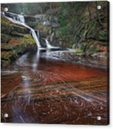 Ethereal Autumn Square Acrylic Print