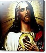 Ethereal Jesus Acrylic Print