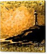 Ethereal Lighthouse Acrylic Print