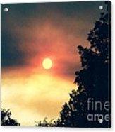 Ethereal Sunset Acrylic Print