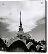 Ethereal Wat Suan Dok Acrylic Print