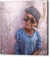 Ethiopian Boy Acrylic Print