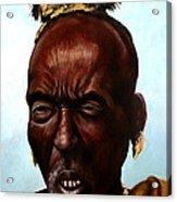 Ethiopian Elder 3 Acrylic Print