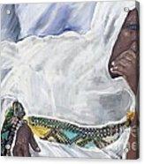 Ethiopian Orthodox Jewish Woman Acrylic Print