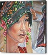 Ethnicity Acrylic Print