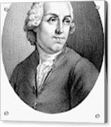 Etienne Bonnot De Condillac(1715-1780) Acrylic Print