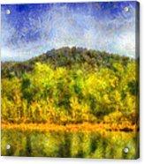 Etowah Reflections Acrylic Print