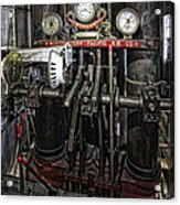 Eureka Ferry Steam Engine Controls - San Francisco Acrylic Print