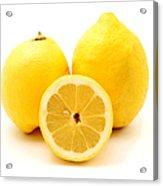 Eureka Lemons Acrylic Print