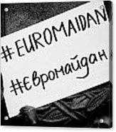 Euromaidan Acrylic Print
