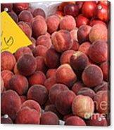 European Markets - Peaches And Nectarines Acrylic Print