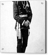 European Officer, 1890s Acrylic Print