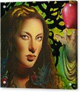 Eve And The Apple Acrylic Print