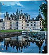 Evening At Chateau Chambord Acrylic Print