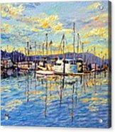 Evening At Sausalito Acrylic Print
