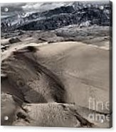 Evening At The Dunes Acrylic Print