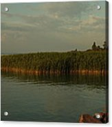 Evening At The Ferrie Acrylic Print