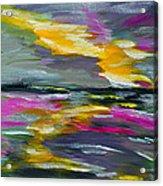 Evening Colors Acrylic Print