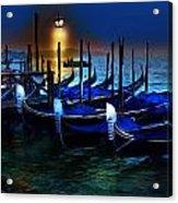 Evening Gondola Acrylic Print