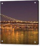 Evening II New York City Usa Acrylic Print