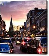 Evening In Annapolis Acrylic Print