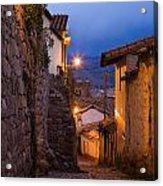Evening In Cusco  Acrylic Print