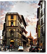 Evening In Florence Acrylic Print