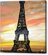 Evening In Paris Acrylic Print