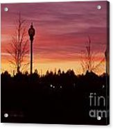 Evening In Riverfront Park Acrylic Print