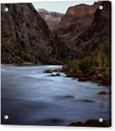 Evening In The Canyon Acrylic Print